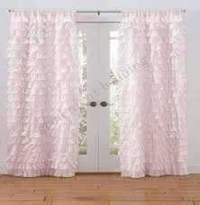 Purple Waterfall Ruffle Curtains by Egyptian Cotton Shower Curtain Foter
