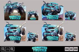 Monster Trucks (2017) Folder Icon Pack By Bl4CKSL4YER On DeviantArt