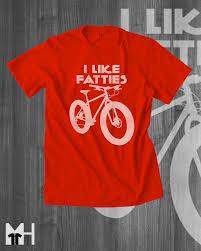 mountain bike t shirt fat bike fat tire bike t shirts cycling