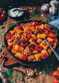 vegane süßkartoffel gnocchi einfaches rezept