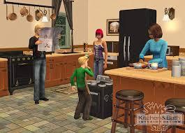 Sims 3 Ps3 Kitchen Ideas by The Sims 2 Kitchen Bath Interior Design Stuff Pc