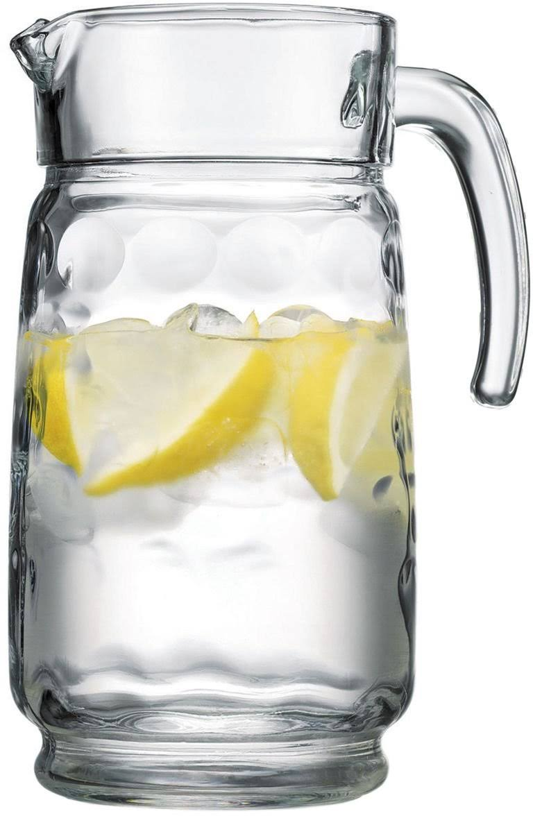 Home Essentials Eclipse 64-Ounce Pitcher Glass