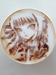 Anime Latte Art