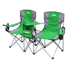Gigatent Green Steel Folding Side-By-Side Double Camping Chair At ... Volkswagen Folding Camping Chair Lweight Portable Padded Seat Cup Holder Travel Carry Bag Officially Licensed Fishing Chairs Ultra Outdoor Hiking Lounger Pnic Rental Simple Mini Stool Quest Elite Surrey Deluxe Sage Max 100kg Beach Patio Recliner Sleeping Comfortable With Modern Butterfly Solid Wood Oztrail Big Boy Camp Outwell Catamarca Black Extra Large Outsunny 86l X 61w 94hcmpink