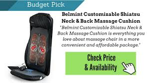 Back Massage Pads For Chairs by Best Massage Cushion Reviews An Ultimate Guide To The Best