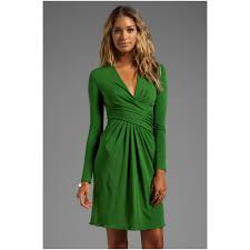 popular long sleeve wrap dresses for work buy cheap long sleeve