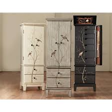 Chirp Pewter (Silver) Jewelry Armoire | Armoires Best 25 Jewelry Armoire Ideas On Pinterest Cabinet Brown Wood Armoire Stealasofa Fniture Outlet Los 100 Home Decators 9 Standing Wall Jewelry Abolishrmcom Mirror Wall Mount Images Decoration Ideas Collection Black 565210 The Box Kohls With White Diy Lotus In Tanbrown Armoire96890200 Table Surprising Oxford My Socalled Diy Blog