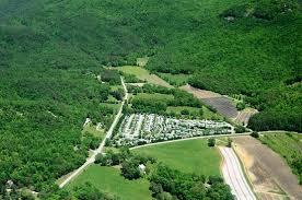 River Vista Mountain Village RV Resort Georgia Park Aerial View 4