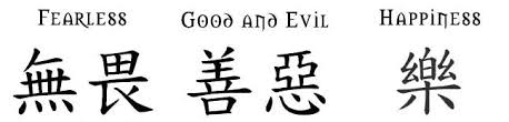 Collection Of 25 Chinese Name Symbols Tattoo Designs