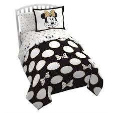 Minnie Mouse Twin Bedding by Minnie Mouse Gold Polka Dot Comforter Set Twin Shopdisney