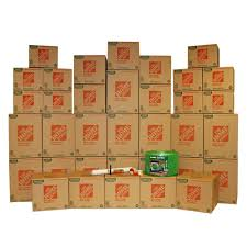 The Home Depot 35 Box Medium Packing Kit The Home Depot