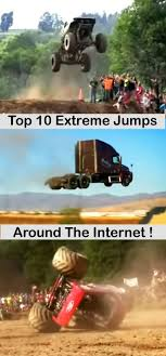 100 Top 10 Trucks Cars Most Extreme Truck Jumps Backflips And Fails Around