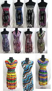 lot of 20 women dress wholesale bulk sundress bohemian hippie boho