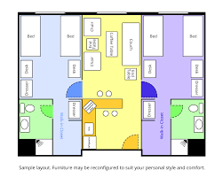 Long Rectangular Living Room Layout by Room Layouts Saint Xavier University