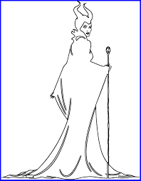 Inspiring Innovative Disney Maleficent Coloring Pages Are You Like Something Of Villains And Style