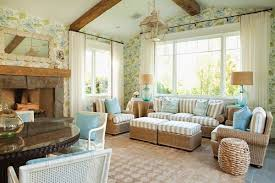 seagrass rustic living room furniture ideas fireplace
