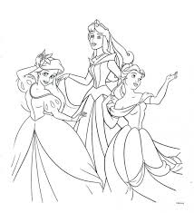 100 Disney Princess Coloring Book Pages