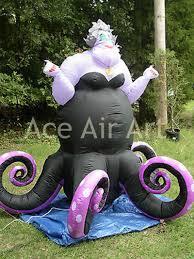 Halloween Yard Inflatables by Halloween Ghast Decoration Inflatable Ursula Mermaid Octopus
