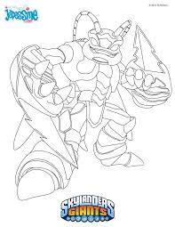 Bunch Ideas Of Skylander Giants Coloring Pages To Print About Example