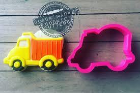 100 Dump Truck Cookie Cutter Construction Etsy