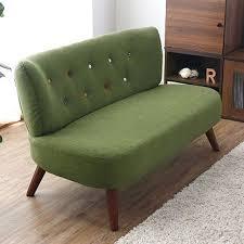 ameublement canapé moderne salon canapé 2 places tissu d ameublement bois jambes