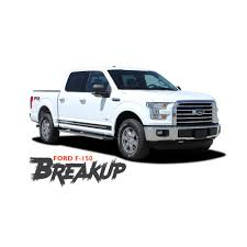 Ford F-150 BREAKUP ROCKER Lower Door Rocker Panel Body Stripes Vinyl ... Insuring Your F150 Coverhound 2018 New Ford Xl 4wd Reg Cab 65 Box At Landers Serving 2wd Used Xlt Supercab First Drive How Different Is The Updated The Fast 2017 Fuel Economy Review Car And Driver Continues To Refine Bestselling Supercrew Haims Motors Watertown Lariat 4d In San Jose Cfd10257 2014 Reviews Rating Motor Trend