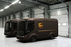 100 Ups Trucks For Sale UPS Will Pilot These Adorable Electric Trucks In Paris And