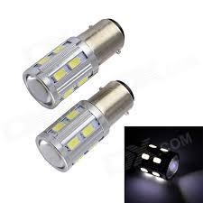 t20 10w 12v 600lm 16 led 2 mode cob fog light bulb 2pcs