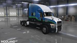 100 Usa Truck USA TRUCK Inc Skin For Mack Anthem Mod For American Simulator