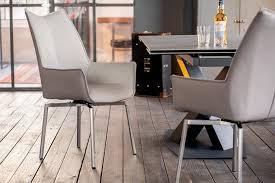 kawola esszimmerstuhl stine stuhl mit drehfunktion kunstleder grau kaufen otto