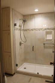 shower 4 wide walk shower beautiful how to build shower pan