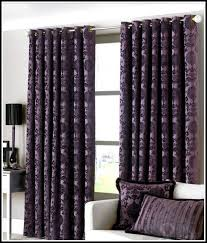 grey and purple curtains 1034