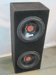 100 Speaker Boxes For Trucks Street Edge Subwoofers In Box Property Room