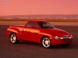 Cars: 2003 Chevy SSR Convertible Red Truck, Picture Nr. 18418