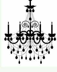 Chandelier Silhouette Epic For Home Decoration Ideas With
