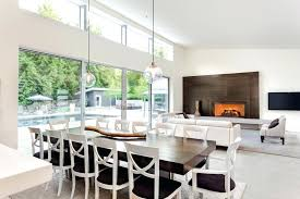 Kitchen And Dining Room Ideas Open Concept In Contemporary Style With Large Area