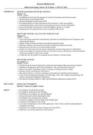 Software Testing Resumes - Jasonkellyphoto.co