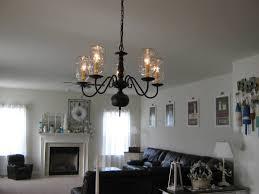 chandelier light bulb jar antique glass bells kitchen ls