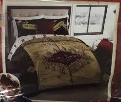 harry potter deathly hallows marauders map full queen comforter