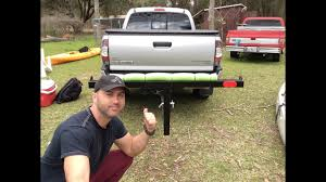 100 Truck Bed Extender Hitch Kayak Fishing YouTube
