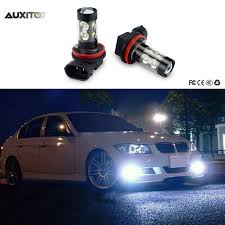 h8 h11 h3 9006 led car fog lights driving drl bulb 50w for bmw e46