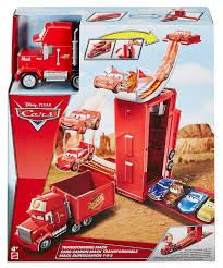 100 Cars Mack Truck Playset Amazoncom Disney Pixar Transforming Toys Games