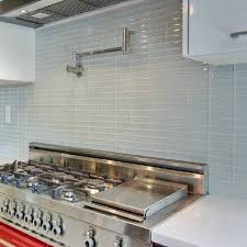 Glass Backsplash Tile In Brown Kitchen Tiles Wall Red