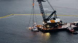 Tug Boat Sinks by Sunken Tug Lifted Off Sea Floor In Bella Bella Ctv Vancouver News