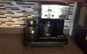 Rolling Coffee Station For The Kitchen Counter