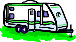 Rv Trailer Cartoon Clipart 1