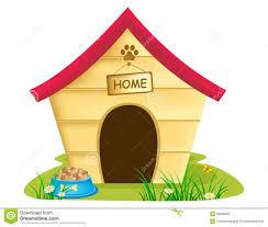 Cute Dog House Clipart