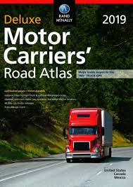 100 Rand Mcnally Truck Gps United States Canada And Mexico 2019 Deluxe Motor Carriers Road
