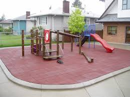 Rubber For Patio Paver Tiles by Looking For Outdoor Playground Patio Surfaces Abacus Surfaces