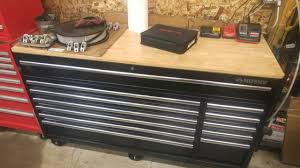 100 Husky Truck Tool Box Review 66 Inch Work Bench Follow Up YouTube